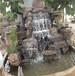 朝阳假山水池设计制作水幕墙室外喷泉假山水池公司