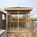 海淀屋顶花园设计制作屋顶花园葡萄架屋顶地板施工