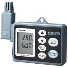 供应日本佐藤温湿度记录仪SK-L200THIIα温湿度计记录计图片