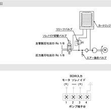 日本LUBE电动泵EGME-10T-4-2C双子型电动润滑脂泵图片