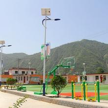 甘肃美丽乡村太阳能路灯图片