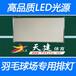 广东室内羽毛球场专用灯排、LED排灯板、耐高温环保生态灯板不包灯管