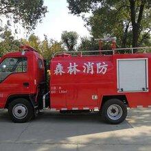 张掖社区2吨小型消防车图片配置
