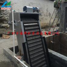 优质服务细格栅除污机回转式格栅捞渣机图片
