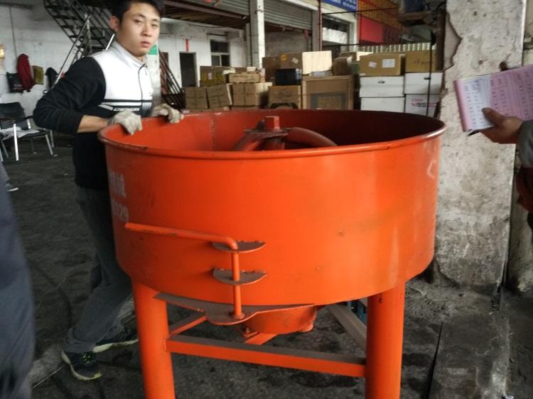 小型80变速箱砂浆机水泥平口搅拌机立式混凝土饲料搅拌机建筑工程图片