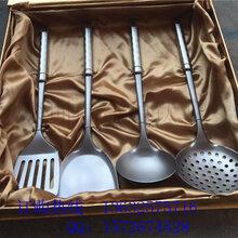 钛厨具四件套钛锅铲钛汤勺钛漏勺钛煎铲现货订购