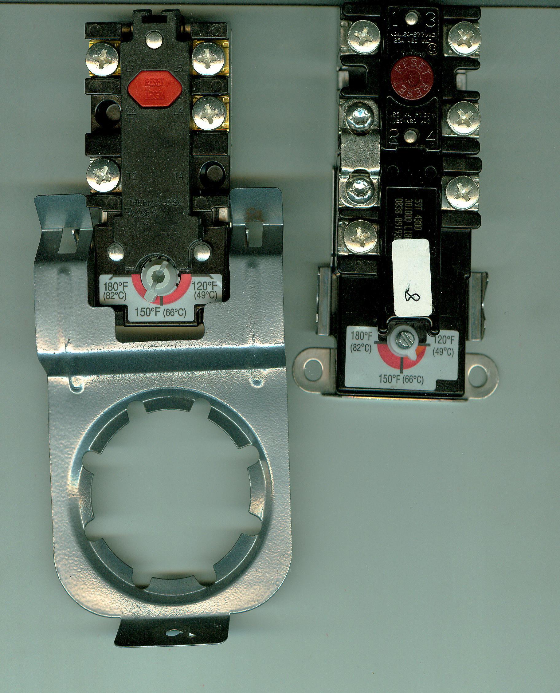 单加热管热水器温控仪59T、限温保护器66T