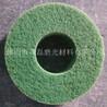 绿色抛光纤维轮尼龙纤维抛光轮绿垫轮抛光材料厂家
