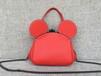 FENDI芬迪女士ROLLBAG系列黑色牛皮手提包8BH185黑色,芬迪大号购物袋,广州芬迪包包货源