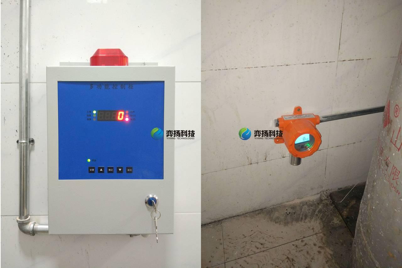 饭店酒店美食城液化气泄漏报警器检测器