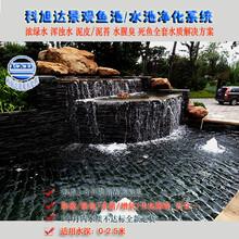 池塘水处理浙江丽水锦鲤鱼池水处理值得信赖的生物净化器厂家直销