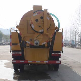 东风多利卡8.2立方管道疏通清洗吸污车价格配置图片2