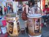 啤酒吸塑冰桶雞尾酒促銷冰桶咖啡飲料冰桶上海利久