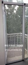 意美达牌单拉式无轨链条式折叠纱门图片