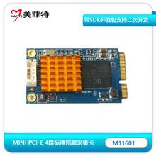 美菲特M11601MiniPCI-E4路视频采集卡图片