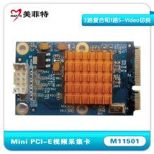 美菲特M11501单路MiniPCI-E音视频采集卡录直播图片