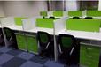 新款办公桌椅屏风定做培训桌批发
