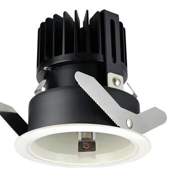 西顿筒灯批量供应西顿5系列酒店筒灯CEJ075E2S开孔75MM