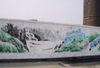 南昌街道社区文化墙彩绘——南昌美佳彩绘!