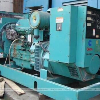 发电机回收——无锡发电机回收无锡二手发电机回收