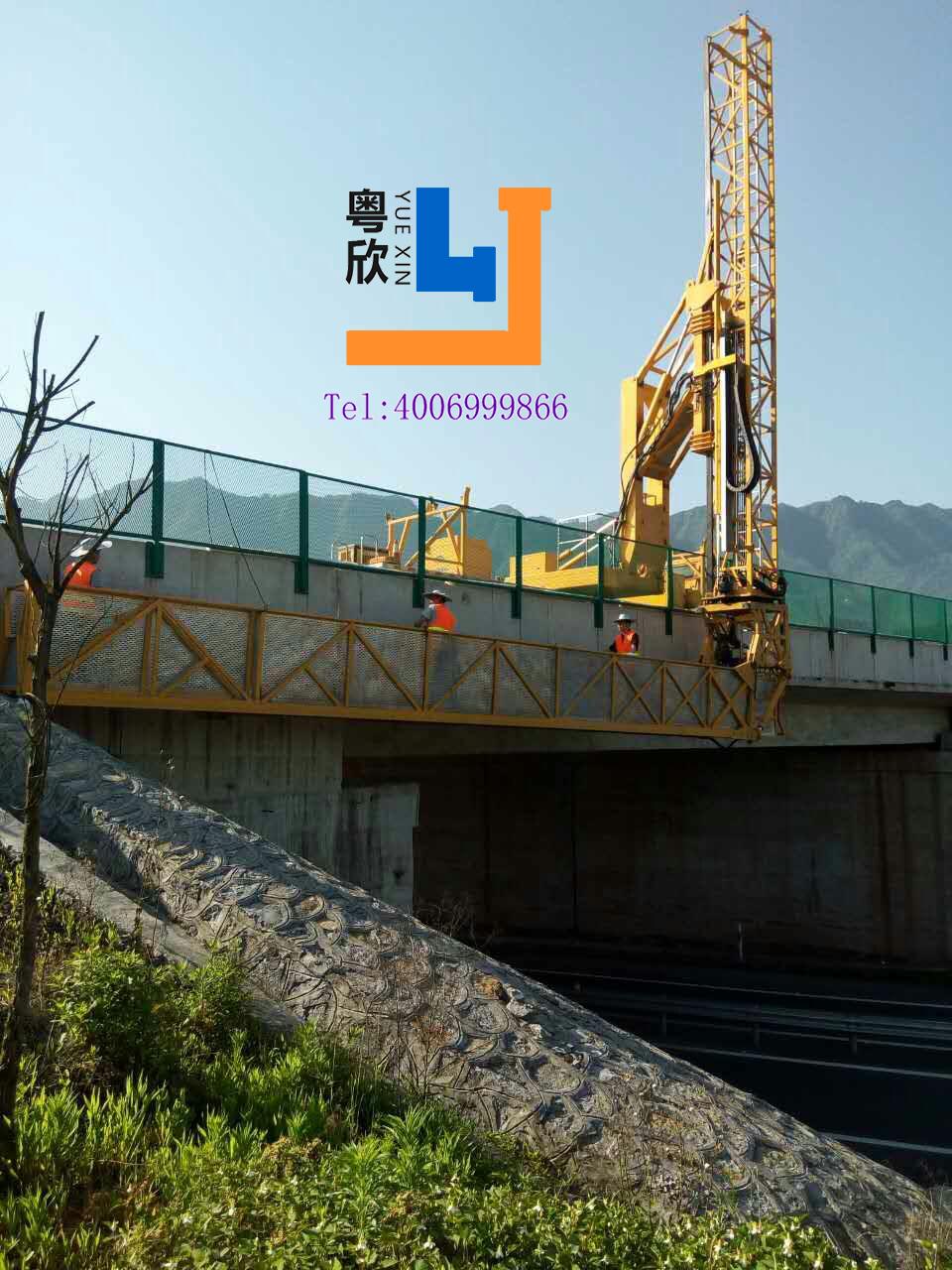 重庆桥梁检测车出租渝北桥梁检测车租赁渝北长寿高速公路