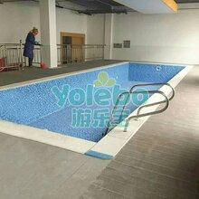 天津塘沽婴儿游泳馆儿童训练池教练池生产厂家上门安装
