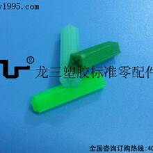 067D綠色六面塑料膨脹管729mm長龍三廠家批發圖片