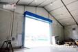 新疆仓库篷房定制配置齐全设计有卷闸门挡水坎硬体墙防撞柱