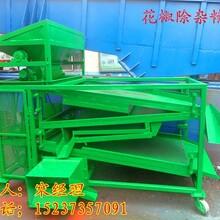 重慶青花椒枝葉殼籽分離機-花椒篩選機-烘干花椒除雜振動篩廠家圖片