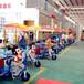 景区游乐园儿童卡通动物拉车双人亲子电动玩具车小孩小型音乐三轮车