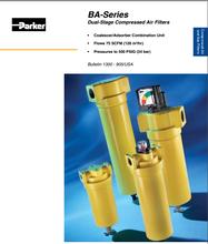 派克parker双级压缩空气过滤器BA系列
