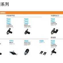 派克乐可利调速节流阀产品,品种齐全,适用于气路系统中的所有调速功能。