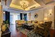 重庆英利狮城花园130平米美式风格三居室装修案例设计效果