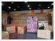 实木水果货架水果店货架超市水果货架天津正豪货架厂