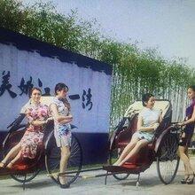 老上海黄包车出租、老上海黄包车租赁、租老上海黄包车拍广告