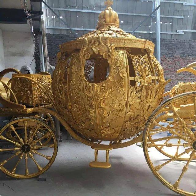 皇家马车大型景区巡游展览高端设备人气互动