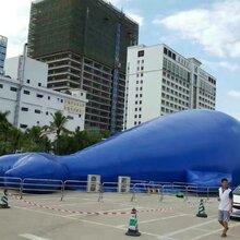 气模鲸鱼岛游乐工厂直销大型鲸鱼岛出租价格优惠