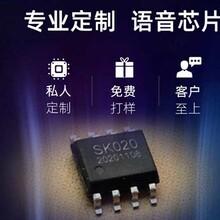 閘機播報語音IC推薦SK040F芯片分段控制,性能穩定!圖片