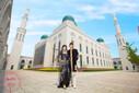 回族婚纱摄影时尚穆斯林婚纱摄影图片