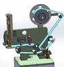 充電器殼5面自動貼膜機,華深達貼標機,深圳貼標機,非標自動化,塑膠貼膜機