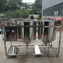 黑龙江哈尔滨花生油精炼机大豆油精炼设备图片