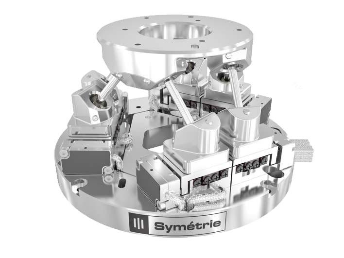 压电陶瓷电机驱动,纳米六自由度运动平台,并联机器人