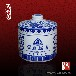 家居食品陶瓷罐定制,陶瓷泡菜罐装肉罐子酱菜罐供应商