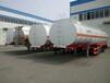 梅州48立方铝合金油罐运输半挂车价格图片出口价格