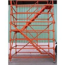 周口市橋梁盤扣腳手架租賃14主龍骨工字鋼施工爬梯圖片