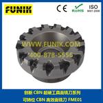精铣铸铁、灰铸铁等材料的面铣刀FME01可转位CBN高效面铣刀图片