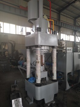 鑫源液压高密度铁屑压块机XY32系列冷压铁屑压块机L