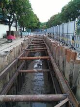 深圳市玻璃钢化粪池深基坑安装施工方案