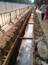 深圳茅洲河治理工程拉森钢板桩的应用