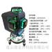 12线3D贴墙仪绿光水平仪贴牌7mm/LD蓝光室内外水平仪